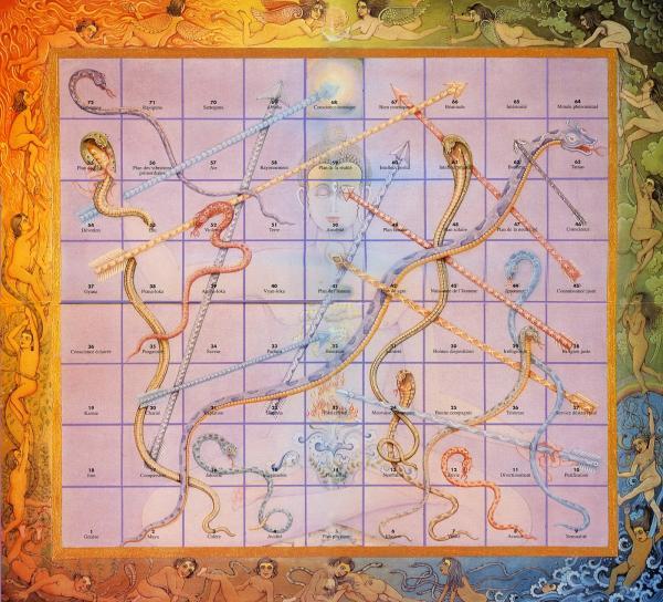 photo du plateau du jeu du Lila